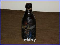 Antique Vintage 7 Weiss Scotts Spring Bottling Works Schenectady Ny Beer Bottle