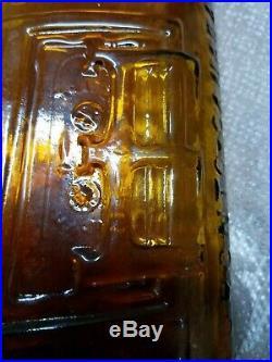Antique Warner's Safe Cure Medicine Bottle Rochester NY USA ENGLAND CANADA RARE