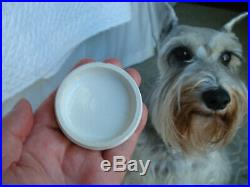 Antique (c1880)under glaze-advertized, NEW YORK & RHODE ISLAND Cold Cream pot lid