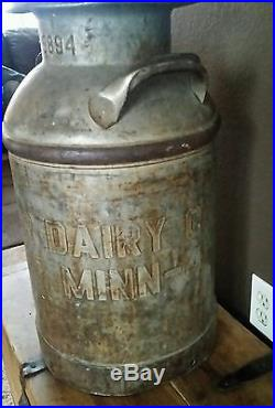 Antique milk bottle container holder Dairy Rochester NY