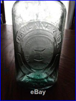 Antique scarceHaviland & Co (Druggist New York) Charleston & Augusta1859+era