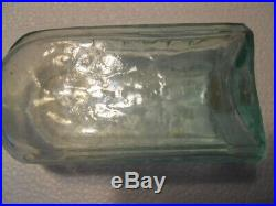 Aqua Open Pontil Bristol's Extract of Sarsaparilla Buffalo NY Medicine Bottle