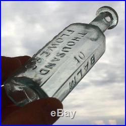 Balm of Thousand Flowers Fetridge & Co. New York NY Open Pontil Bottle Medicine