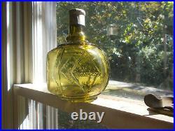 Beautiful Citron Green Hayward's Hand Fire Grnade Pat. 1871 Broadway Ny Rare