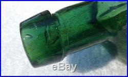 Beautiful Dr. Townsend's Sarsaparilla Albany Ny, Antique Bottle, Gloppy, Bubbles