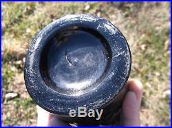 Blackglass G. W. Weston & Co Quart Saratoga Mineral Water Bottle Saratoga, Ny