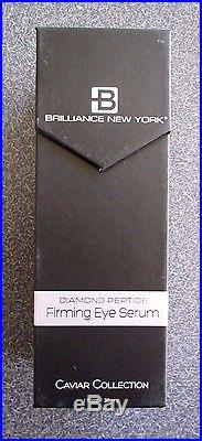 Brilliance New York Diamond Caviar Peptide Firming Eye Serum NEW Bottle Design