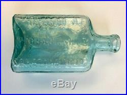 Buckhout Dutch Liniment Mechanicville New York NY Saratoga Bottle Error Pontil