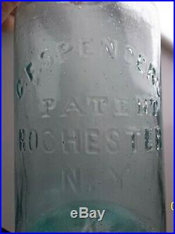 C. F. Spencer's Patent Fruit Jar from New York