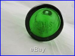 Carl H. Schultz C-p M-s Pat May 1868 New York 7 Up Green Color