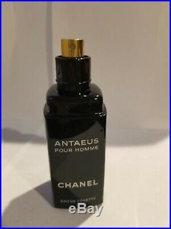 Chanel Antaeus Pour Homme Edt 3.4 Oz Spray Vintagenew York Rare Full Bottle