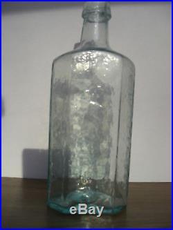 D. Miller & Co Shaker Syrup Medicine Cure Pontil Bottle New Lebaonon Ny
