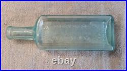 DR. KILMER'S OCEAN WEED HEART REMEDY 7 1/4 Binghamton NY USA Antique Bottle Dug