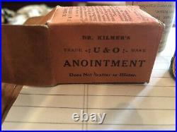 DR. KILMERS U&O ANOINTMENT, Quack Medicine Jar from Binghamton, NY, Unopened NOS