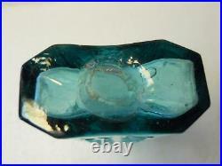 Dark Aqua Open Pontil Rolled Lip Gray's Liniment New-York NY Medicine Bottle