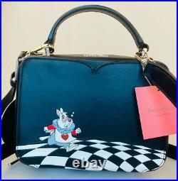 Disney Parks Kate Spade New York Alice in Wonderland Bottle Rabbit Crossbody NWT