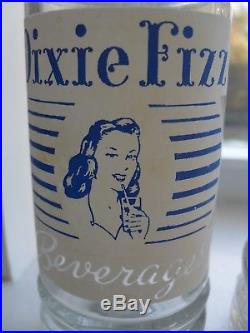 Dixie Fizz Beverages ACL Soda Bottle Brooklyn NY