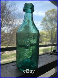 Dr. BROWN (New York) pontiled, soda or mineral water bottle
