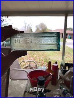 Dr. Blake's / Aromatic Bitters / New York (open Pontil)