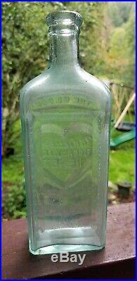Dr. Kilmers Ocean Weed Heart Remedy Binghamton New York NY Bottle Cure