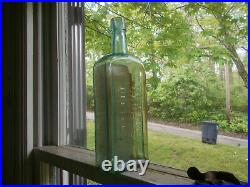Dr. M. M. Fenner's Capitol Bitters Fredonia, Ny Emb With Label 1880 Bottle 10 1/4