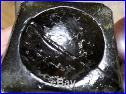 Dr. Townsend, s Sarsaparilla, Albany, N. Y. Sticky Ball Pontil, Apl. Lip, Deep Green