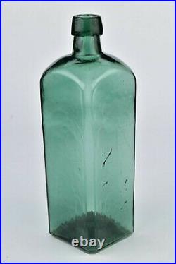 Dr Townsend's Sarsaparilla Albany NY Bottle Iron Pontil Light Weight Bottle