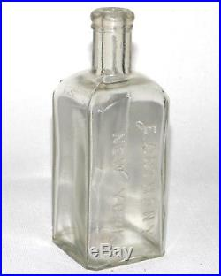E ANTHONY NEW YORK Ambrotype Wet Plate Photography Chemical Bottle c1860s-80s