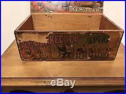 E. R. Durkee & Co. Spices New York Vintage Box With Lid