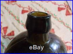 Early Dr Townsend's (Small s) Sarsaparilla Albany NY Olive Green