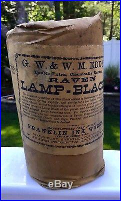 Eddys Raven Lamp Black Franklin Ink Works Waterford Saratoga County NY