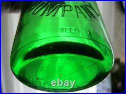 Emerald Green Big Elm Dairy Buffalo New York mint condition