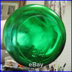 Emerald Green TREQ Milk Bottle Brighton Place Dairy Rochester, N. Y. REED RARE