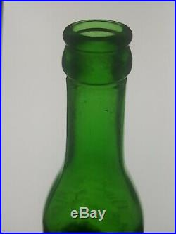 Emerald Green The Owl Drug Co Trademark San Francisco New York Chicago Bottle