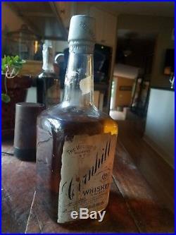 Est. 1827 Antique Cornhill WhiskeyRochester NY Unsealed 1 Quart