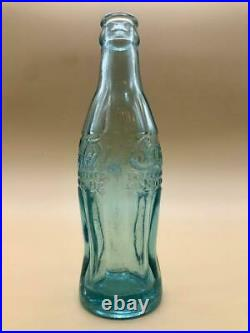 F/S OLD Coca-Cola 1st Contour Bottle BLUE (Around 1910-20) ROCHESTER, NY