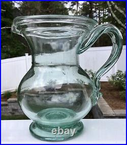 Free blown NYS Pitcher Possibly Redwood/Redford NY