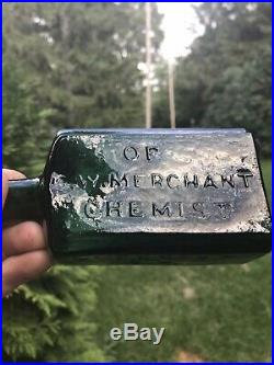 G. W. Merchant Bottle, Lockport, NY Chemist, From The Laboratory
