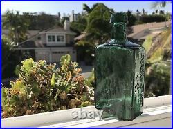 G. W. Merchant Chemist Lockport N. Y. Antique Bottle
