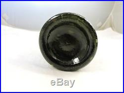 G. W. Weston & Co. Saratoga N. Y. Pint Light Olive Green Color
