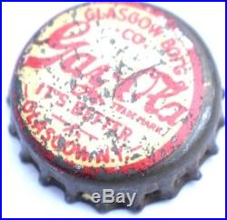 Gay-Ola Cola Bottle Cap Glasgow N. Y. Bottling Co Antique Vintage Soda Crown Cork