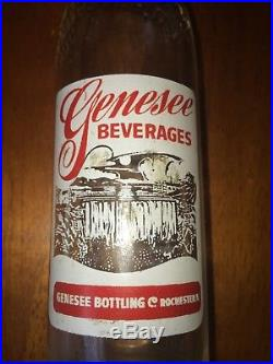 Genesee Beverages Soda Bottle Rochester NY Very Rare
