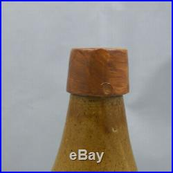 Ginger Beer Bottle Hinckel Brewing Albany Steam Stoneware Antique Pottery Pt NY1