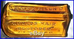 Gorgeous Golden Yellow Mrs Allen's World's Hair Restorer New York. Great color