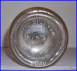 Greenwich Dairy Company New York Quart Tin Top The Brooke Co. Makers N. Y