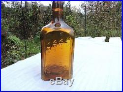 H. B. Kirk & Co. Wine Merchants New York Estab. D 1853 Honey Amber Color