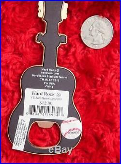 Hard Rock Cafe YANKEE STADIUM V10 Bottle Opener Magnet Guitar City Tee new york