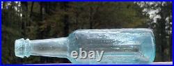 Haviland & Co Agusta(misspelled Augusta, Ga)-New York- Charleston Iron Pontiled