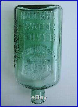 Huntco Water Filler John Hunter Corp Fulton NY Bottle