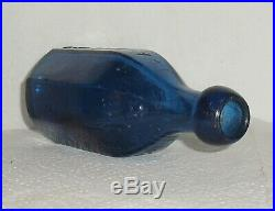 J&a Dearborn Mineral Waters New York 5 Pointed Star Paneled Bottle